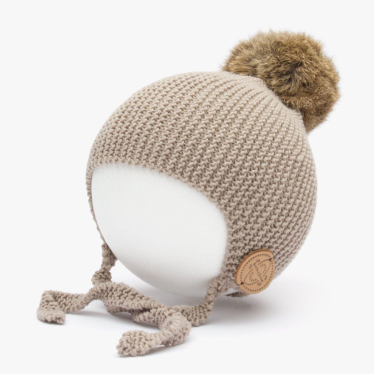 Gorro aviador | Casilda y Jimena | Baby girl knits | Pinterest ...
