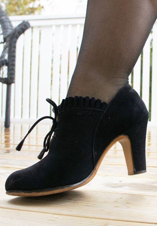 9e7ece0c744 Skor från Oscaria, 1940-tal | Vintage Shoes