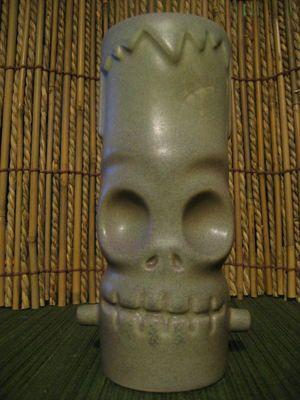 Frankenskull from the collection of murphdog - Ooga-Mooga! Tiki Mugs & More