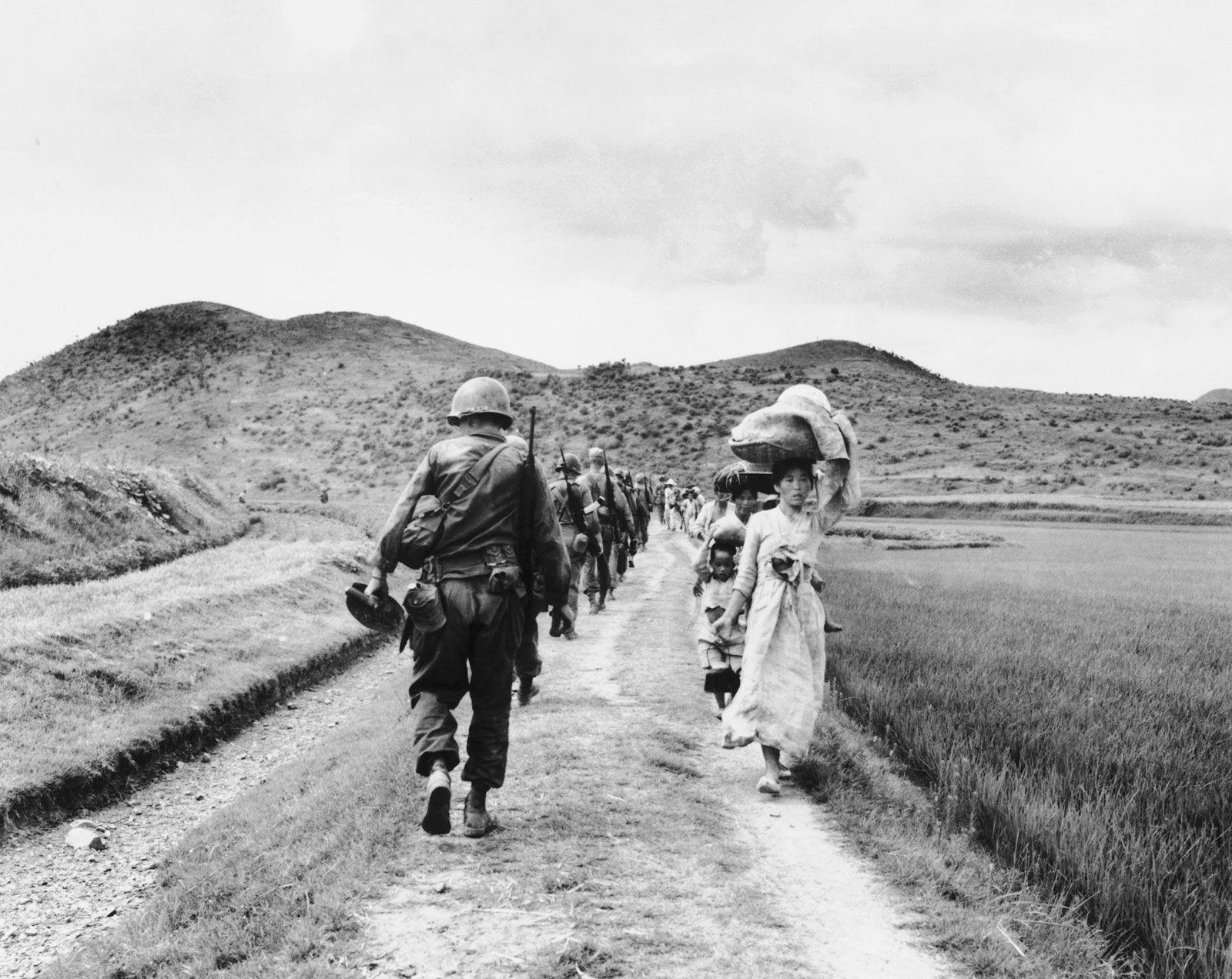 An Uneasy Truce The Korean War