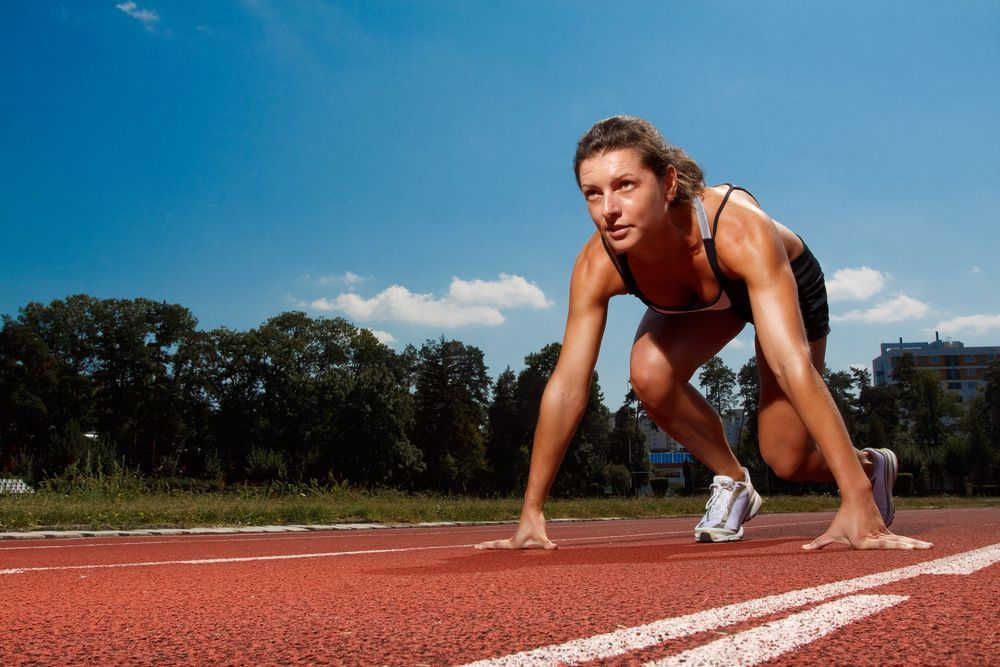 Make like a world-class sprinter and use a local oval to ...