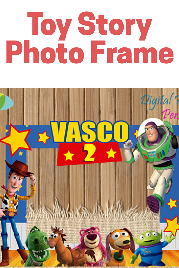Take a selfie with this printable and personalized photo booth frame ...