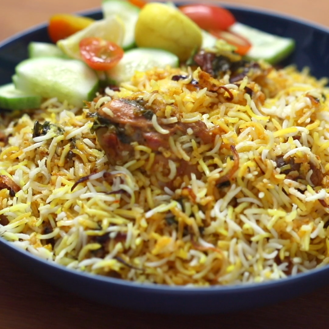 The Best Chicken Biryani (Step by step video recip