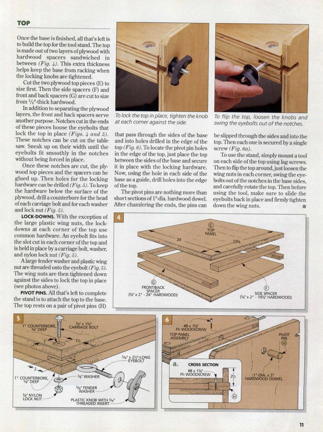 Flip Top Tool Stand Tool Stand Woodworking Apron Workshop Layout