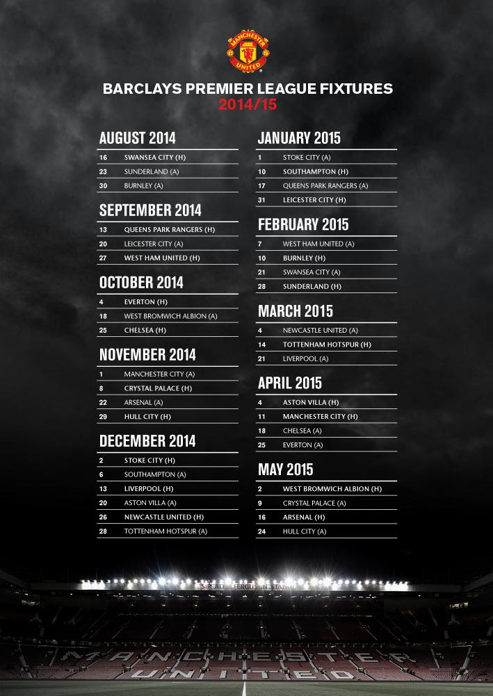 Manchester United On Twitter Manchester United Football Club Premier League Fixtures Premier League