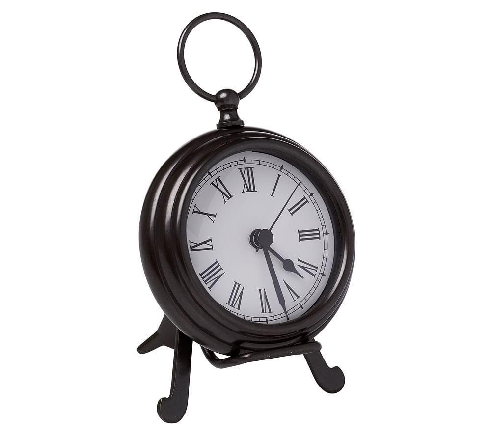 Pocket Watch Clock Small Bronze Finish In 2020 Clock