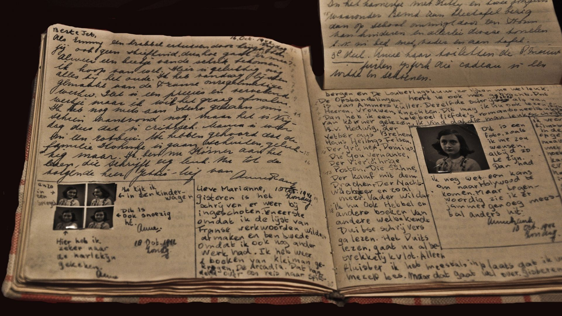 Hidden Pages In Anne Frank S Diary Deciphered After 75