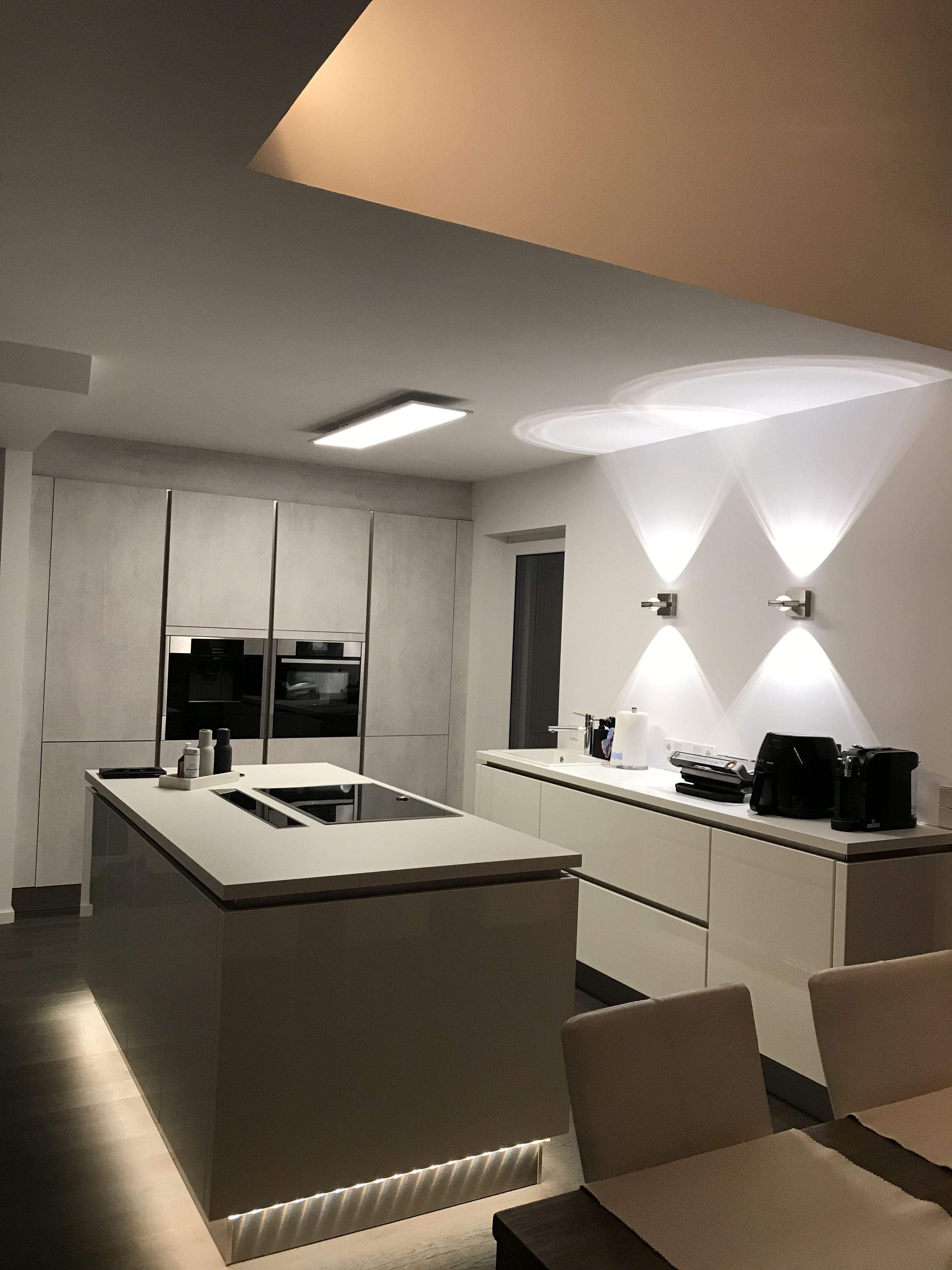 Luftraum Galerie Kuche Mehrfamilienhaus Bauen Fertighauser Wohn Design