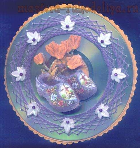 Схемы вышивок на дисках