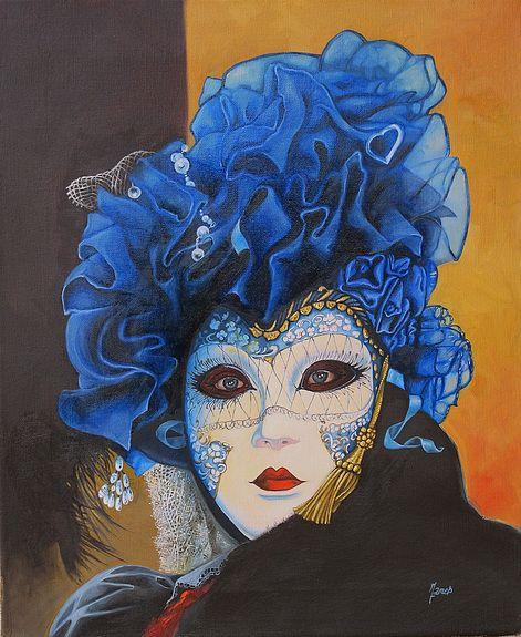 Masque de Carnaval a Annecy