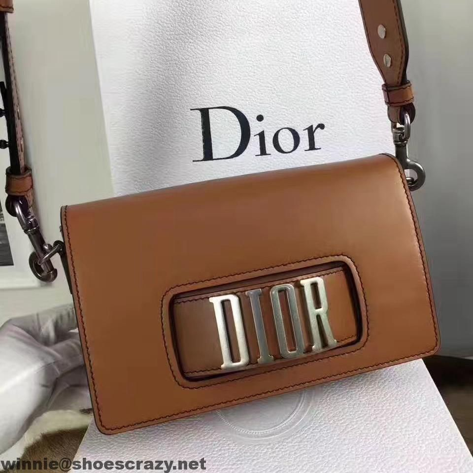 Dior Flap Bag With Slot Handclasp In Calfskin 2017