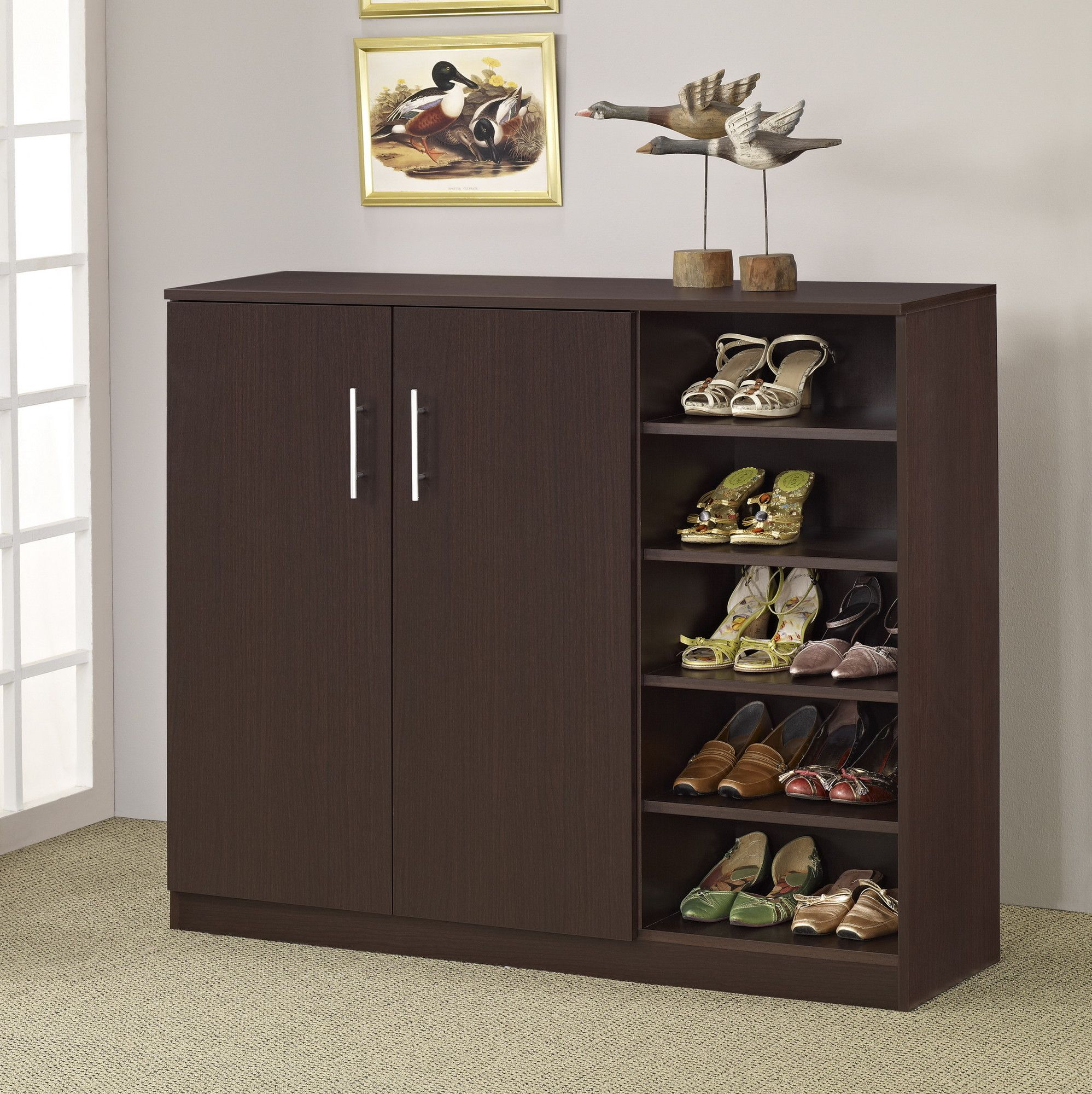 $203......Hokku Designs Grande Multi-Purpose and Shoe Cabinet ...