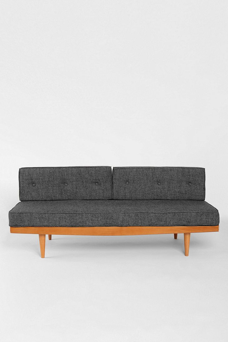 Mid Century Sofa In Grey Urban Outfitters Home Pinterest Mid