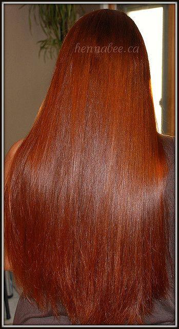 My newly hennaed hair | HAIR | Long hair styles, Hair, Red