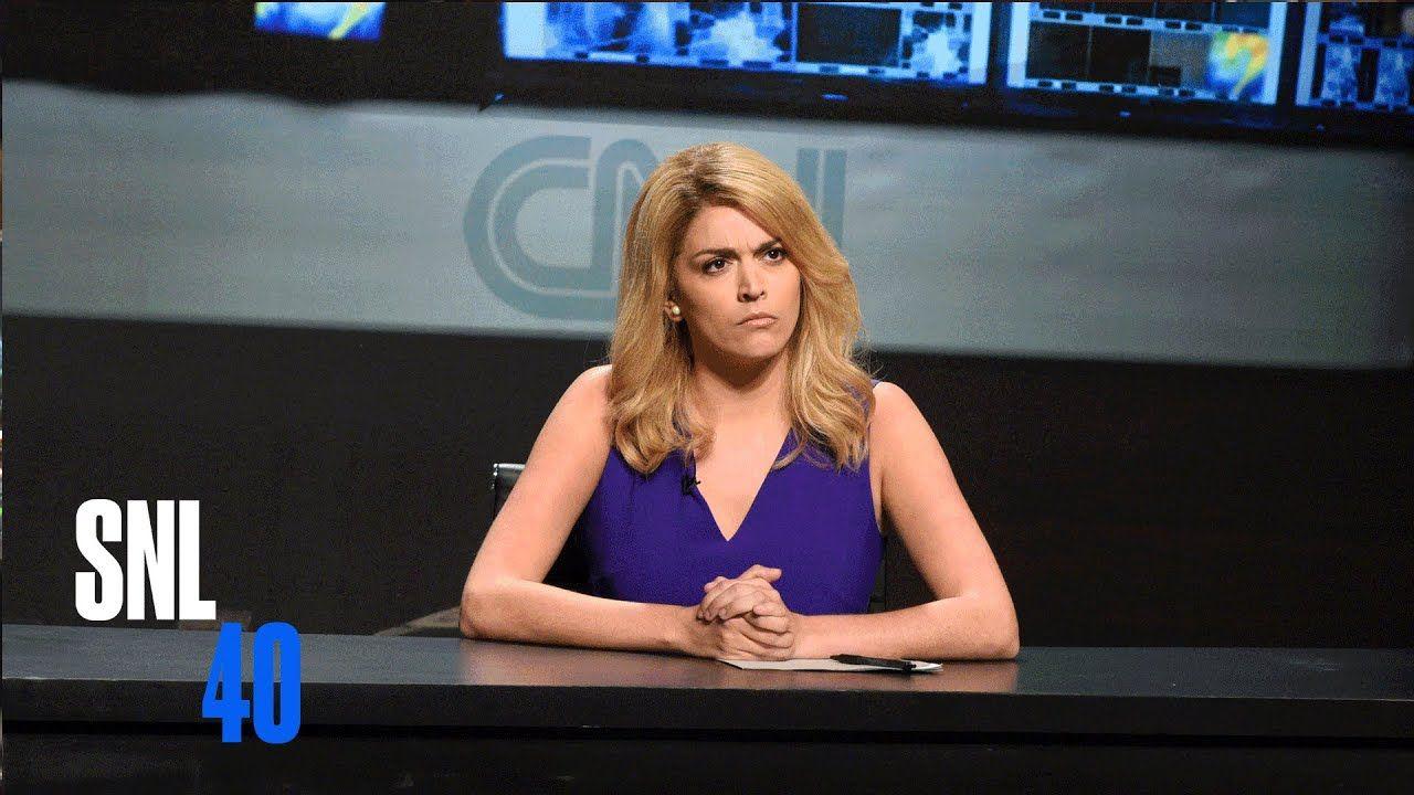 CNN Newsroom SNL Saturday night live, Snl youtube, Snl