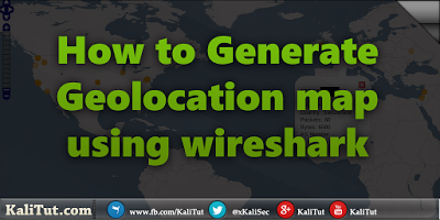 Generate GeoIP map using WireShark | Kali Linux in 2019 | Map