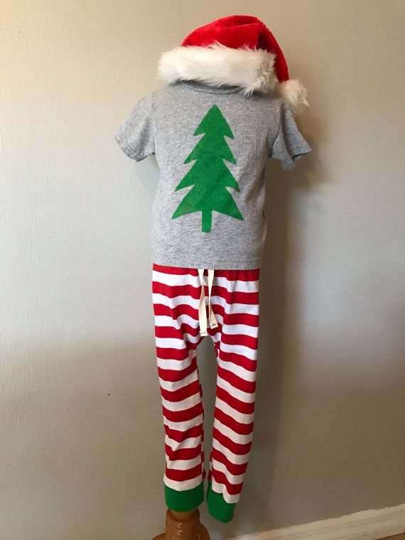 READY TO SHIP Toddler Boy Christmas Outfit / Toddler Christmas