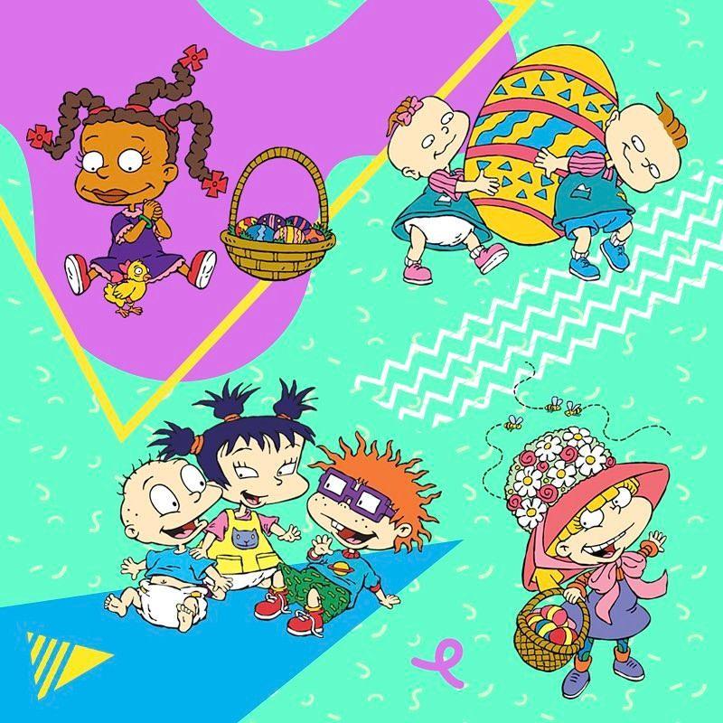 "Rugrats on Instagram ""Happy Easter! 🐰"" Rugrats"