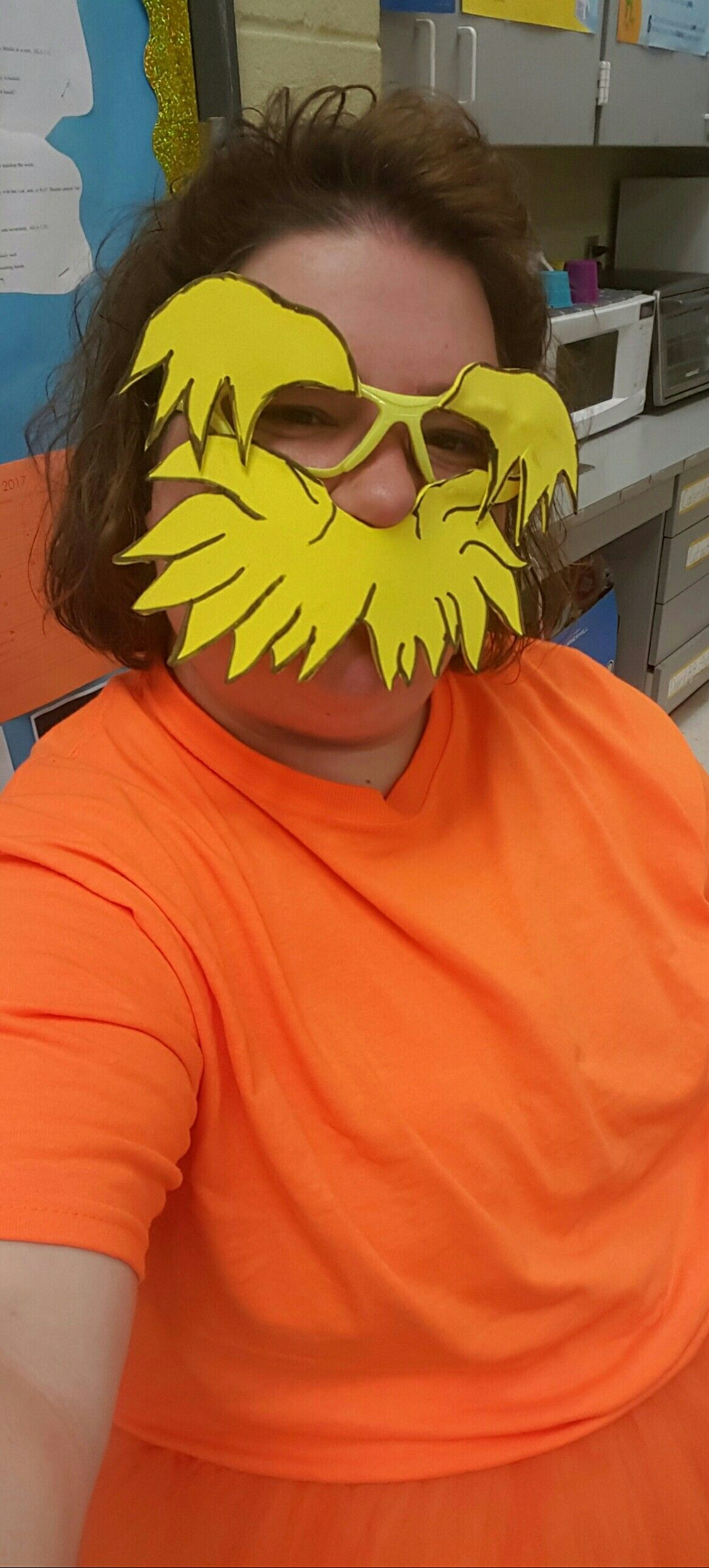 Lorax Mustache And Eyebrows Mask The Moustache Eye