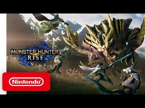 Monster Hunter Rise Announcement Trailer Nintendo Switch Youtube In 2020 Monster Hunter Monster Hunter Series Nintendo