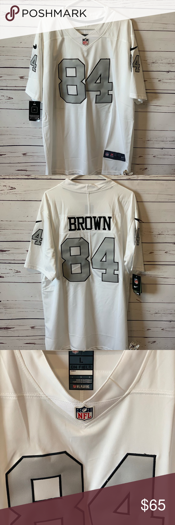 low priced ee7e8 88d10 antonio brown stitched jersey