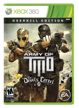 Electronic Arts Army Of Two The Devil Cartel Overkill Edition