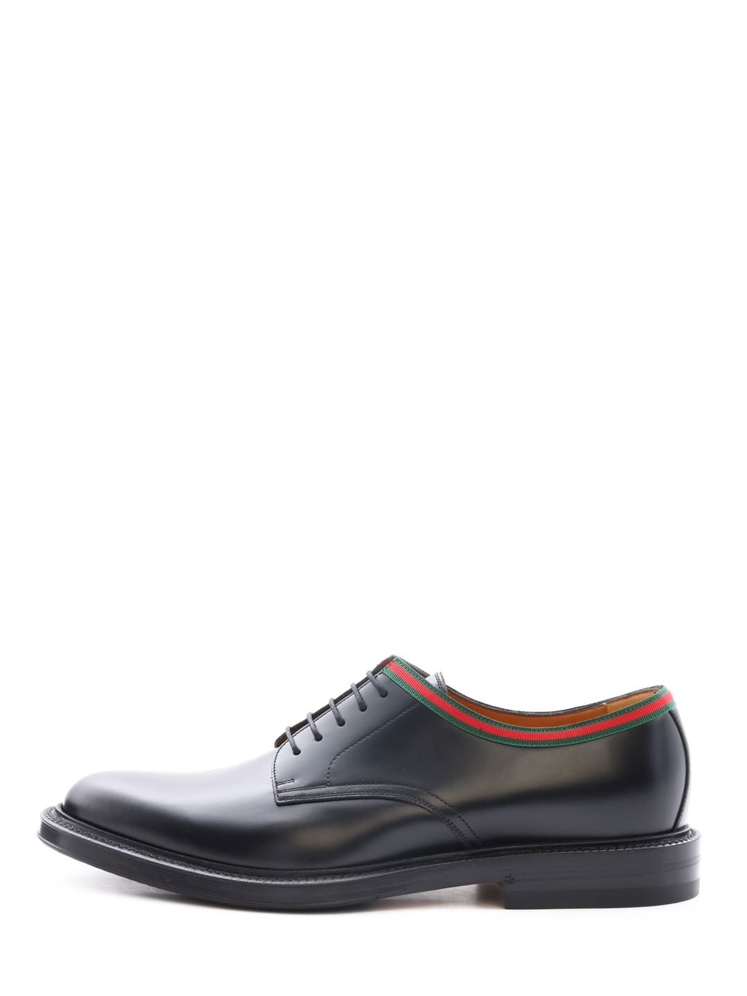 Gucci Men S Beyond Leather Lace Up Shoes In Black Modesens Shoe Laces Leather And Lace Gucci Leather [ 1440 x 1080 Pixel ]