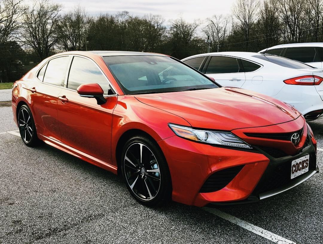 My 2019 Toyota Camry Xse V6 Super Sonic Red Latest Information About Toyota Cars Release Date Redesign And Rumors Our Coverage Als Toyota Camry Toyota Camry