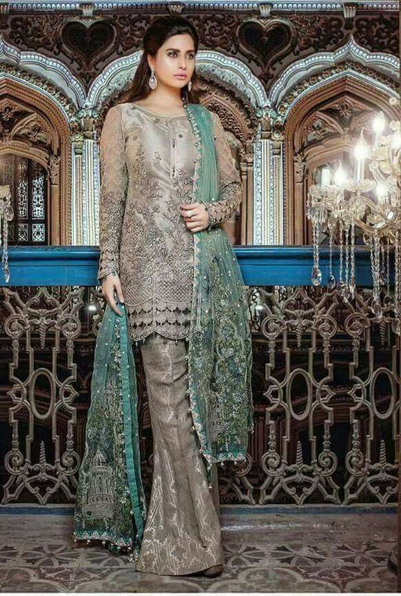 Pin by ameera fatima on Attire | Pakistani dress design ...