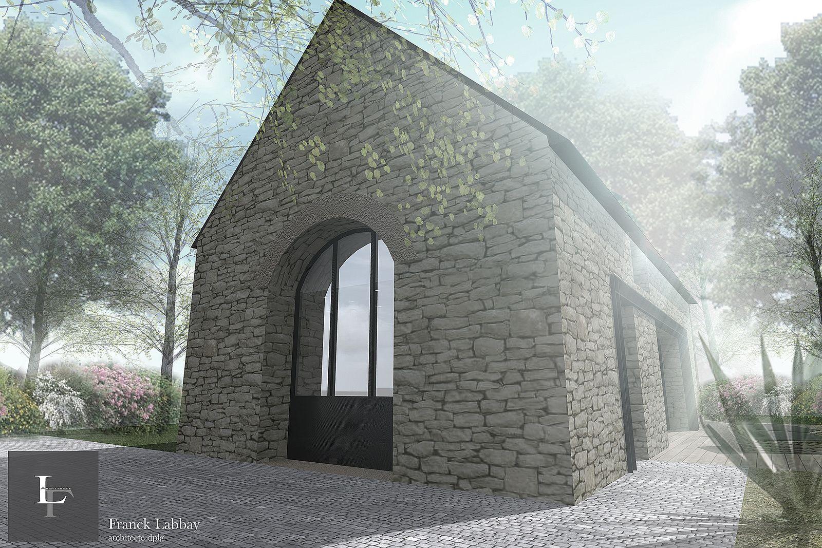 Maison J R Novation D Une Grange Plouhinec Morbihan Bretagne