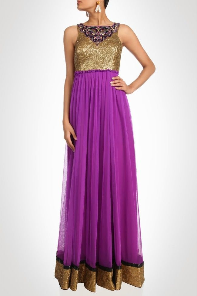 beautiful-girls-wear-new-designers-indian-western-style-prom ...