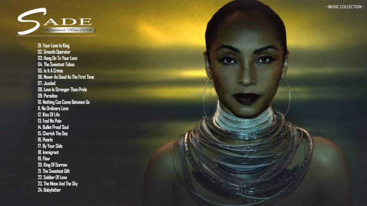 Sade Greatest Hits Collection - The Best Of Sade Playlist | hudba ...