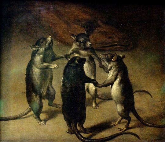 Ferdinand van Kessel. la danza de las ratas 1690 | Flamencos ...