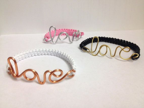 Love Bracelet by TracysiCandy on Etsy, $8.00