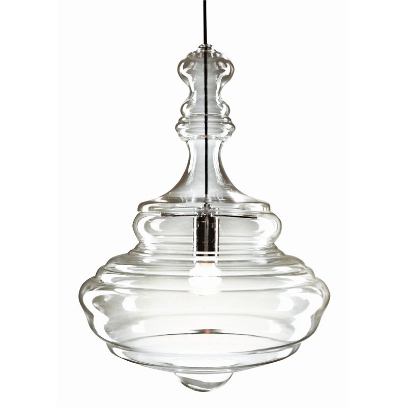 Brilliant 240v 40cm Bolshoi Glass Light Pendant I/N