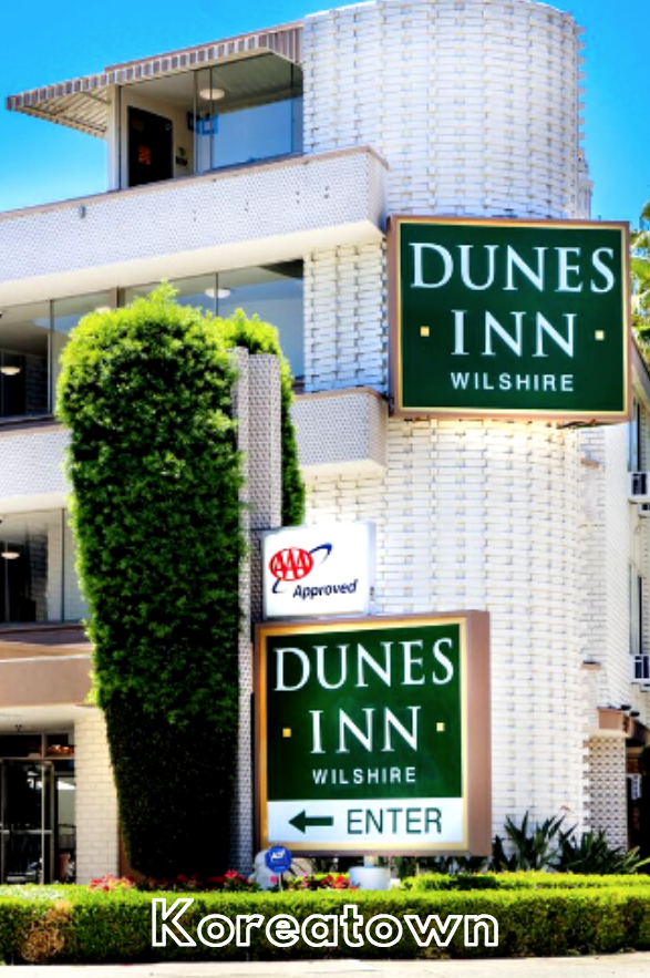Get A Great Rate At Your Hotel In Los Angeles When You Book At Dunes Inn Wilshire Losangeles La Koreatown Ktown Explore Explor Hotel Koreatown Photo