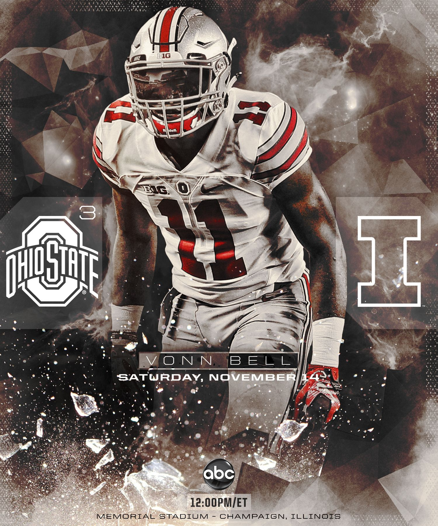 Check Out This Behance Project Ohio State Gameday And Post Game Infographics Sports Design Inspiration Sports Design Football Senior Pictures