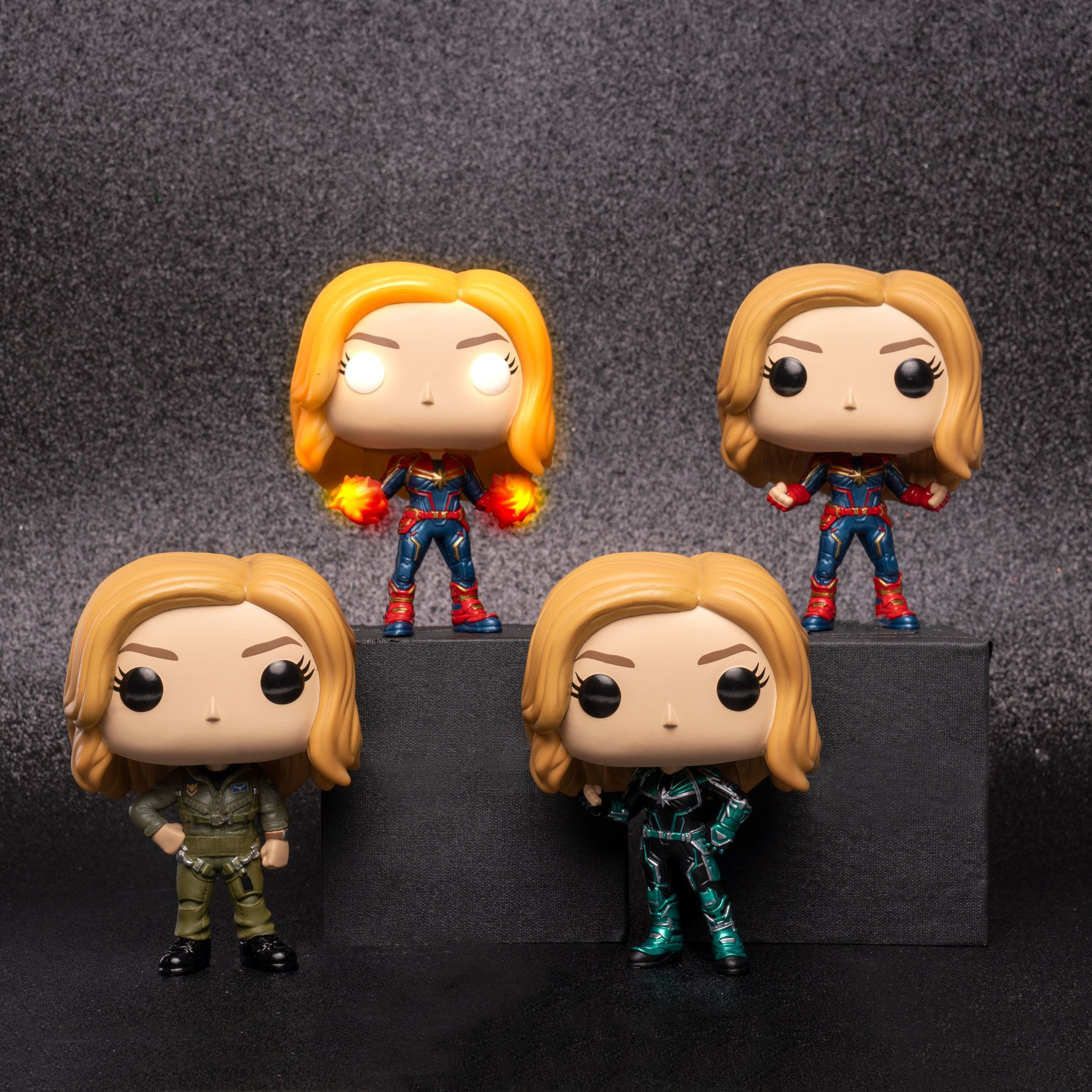 Captain Marvel Funko Pop Glow In The Darkish
