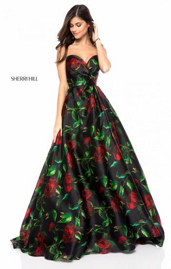 SHERRI HILL 51564   vestidos anchos y cortos   Pinterest   Rose ...