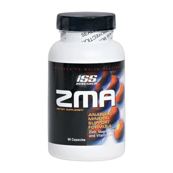 ISS Research ZMA 90 Caps (With images) Testosterone booster