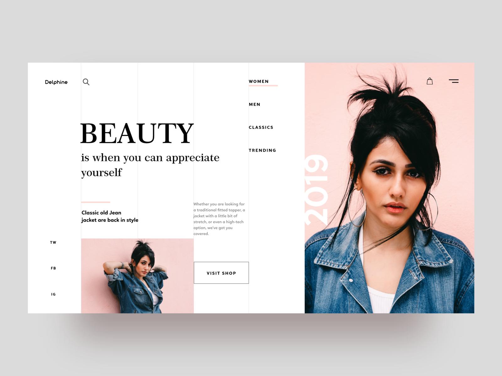 Clothing Brand Website Website Branding Pretty Web Design Website Design Inspiration