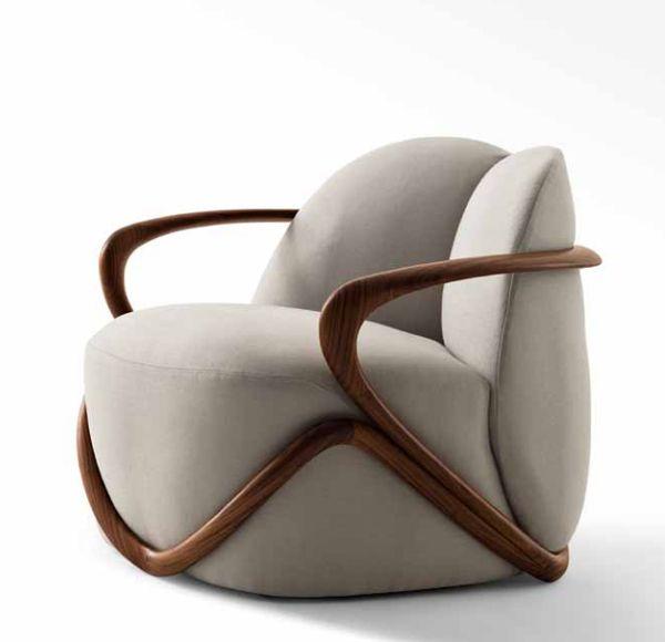 HUG Armchair by Contemporary armchair