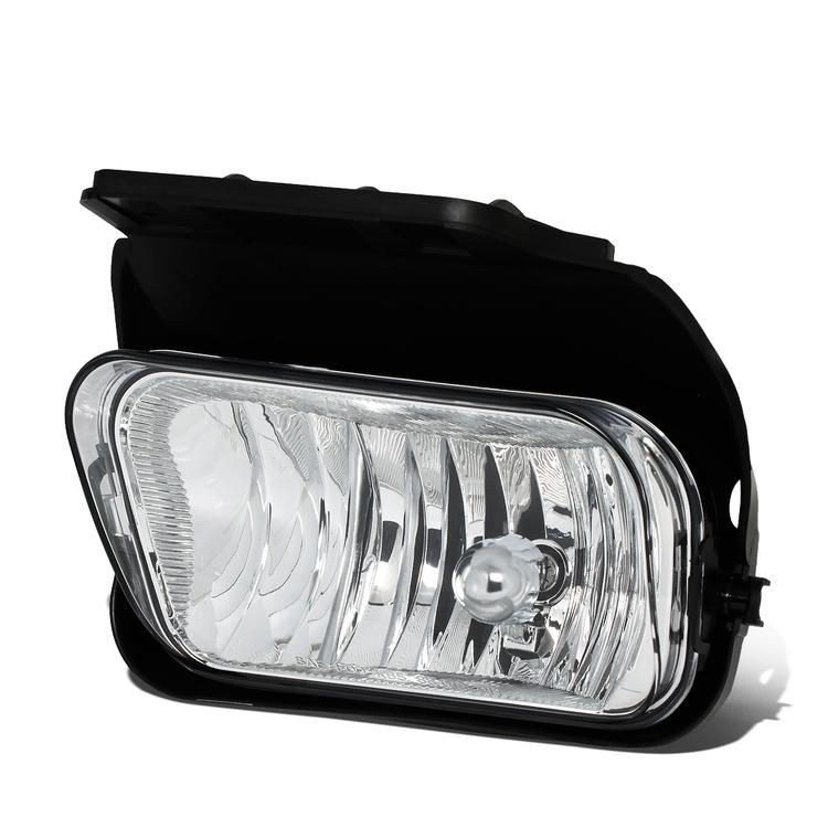 d-motoring - 02-06 chevy chevrolet avalanche silverado fog light - clear  lens - plug-n-play