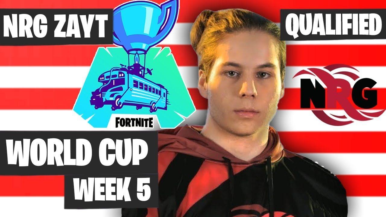 Nrg Zayt Fortnite World Cup Na East Qualified Zayt Highlights Fortnite World Cup World Highlights