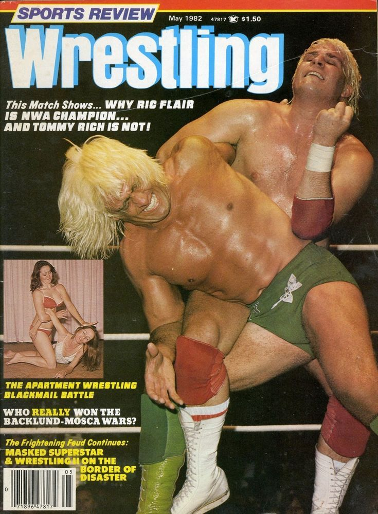 Ric Flairtommy Rich Sports Review Wrestling Magazine May 1982