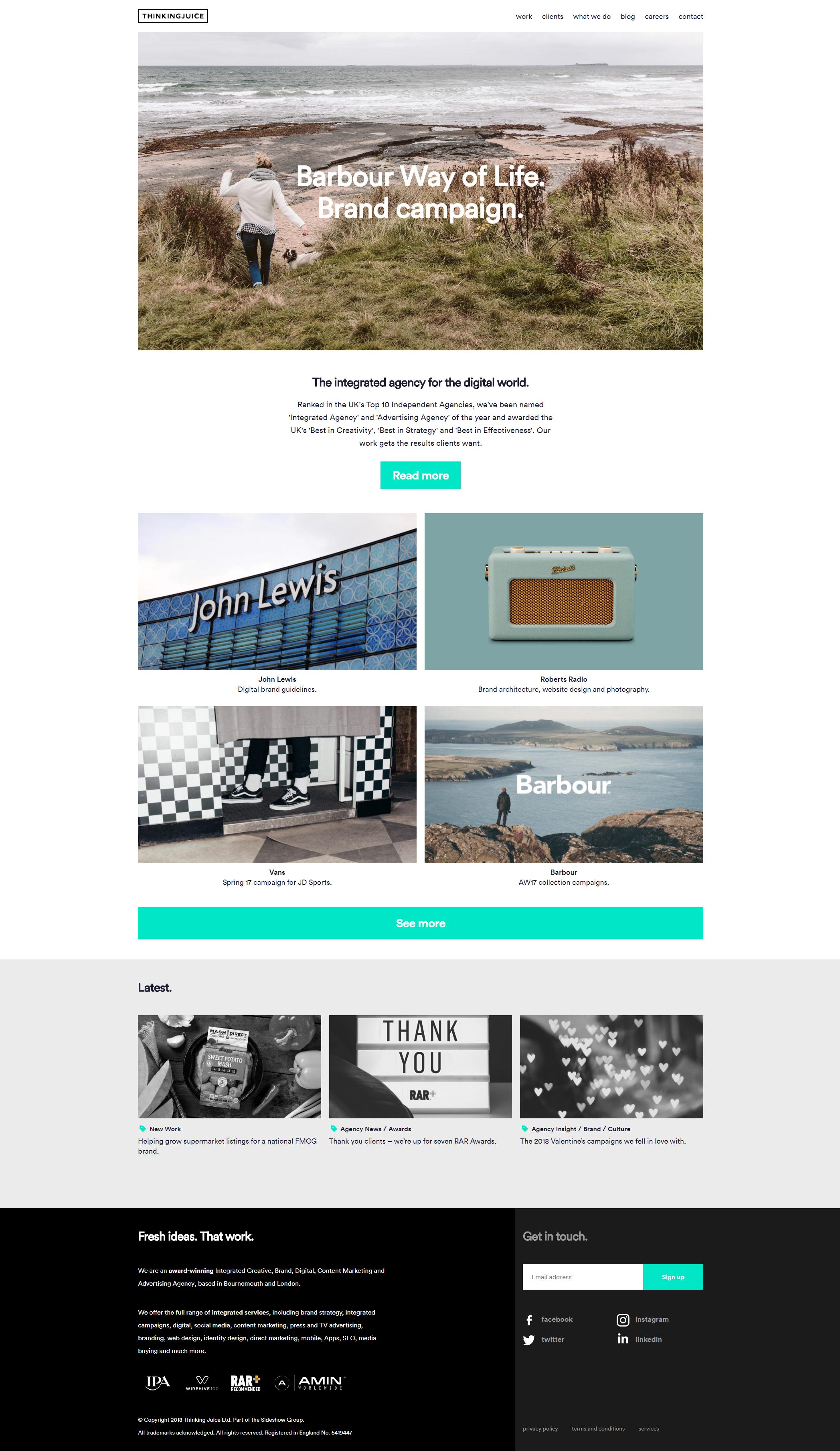 Pin By Mikaela Kasalek On Website Digital Agencies Website Redesign Branding