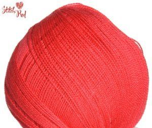 Debbie Bliss Rialto Lace Yarn - 08 Red (Stitch Red)