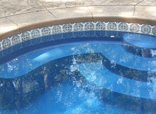 12 cool pool waterline tile swimming