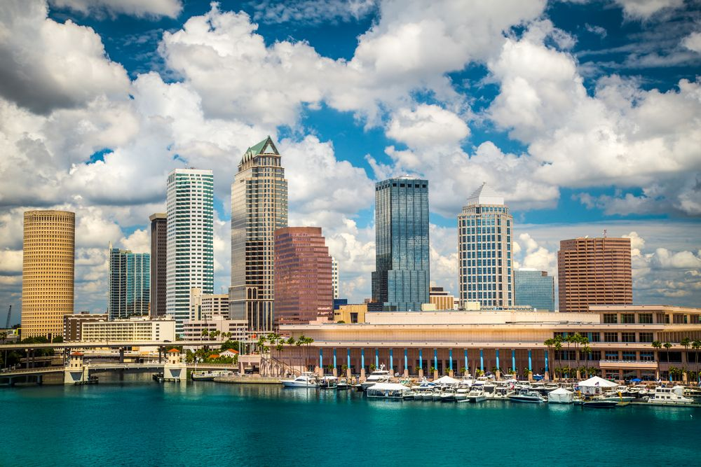Meeting Rooms Tampa (With images) Tampa skyline, Tampa