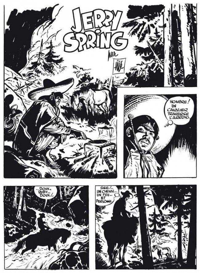 Jerry Spring (L'intégrale en noir et blanc) BD